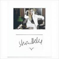 Alice Dellal signed genuine signature autograph display AFTAL