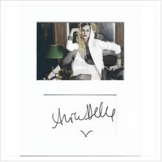 Alice Dellal signed genuine signature autograph display AFTAL