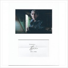 Eric Sykes signed genuine signature autograph display AFTAL