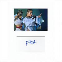 FKA Twigs signed genuine signature autograph display AFTAL