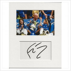 Frank Leboeuf signed genuine signature autograph display AFTAL