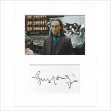 Guy Henry signed genuine signature autograph display AFTAL