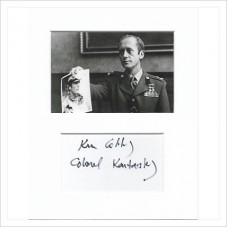 Kenneth Colley signed genuine signature autograph display AFTAL