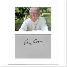 Ray Cooney signed genuine signature autograph display AFTAL