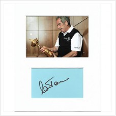 Sam Torrance signed genuine signature autograph display AFTAL