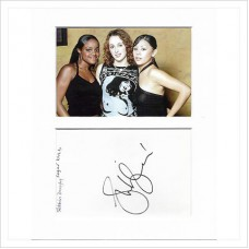 Siobhán Donaghy signed genuine signature autograph display AFTAL